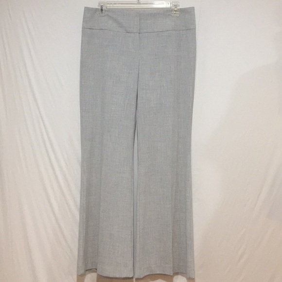 Arden B Pants - Arden B. Wide Leg Light Gray Work Trousers